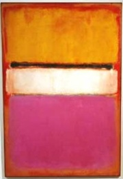 "Mark Rothko: ""White Center (Yellow, Pink and Lavender on Rose)"", Auktionspreis: 65 Millionen Dollar"